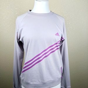 Adidas long sleeve sweatshirt